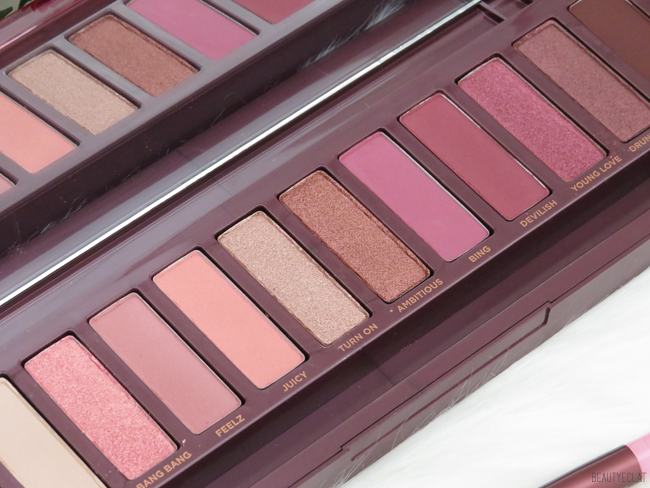urban decay naked cherry details fards