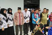 Sekda Jemput Ketua IPSI Sulsel Dibandara H.Aroepala