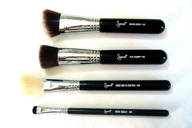 Sigma's Best Selling Make Up Brushes E20, F40, F80, F84