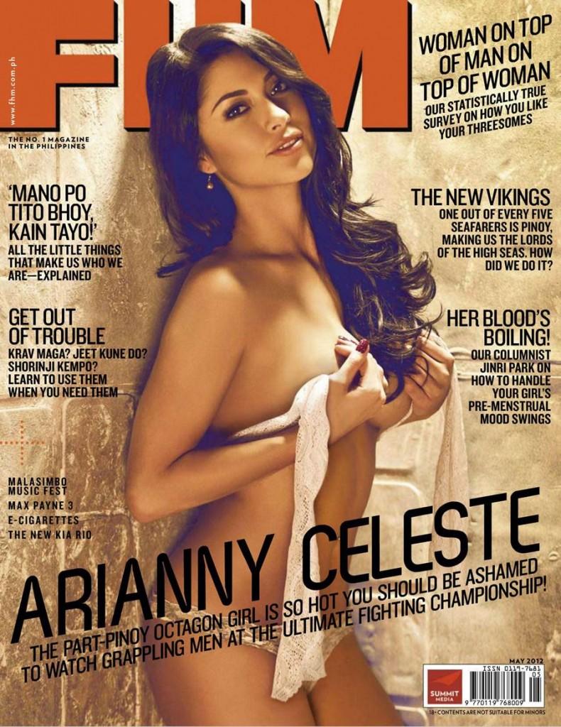 Click On: Sexy Photos Of Arianny Celeste Inside FHM