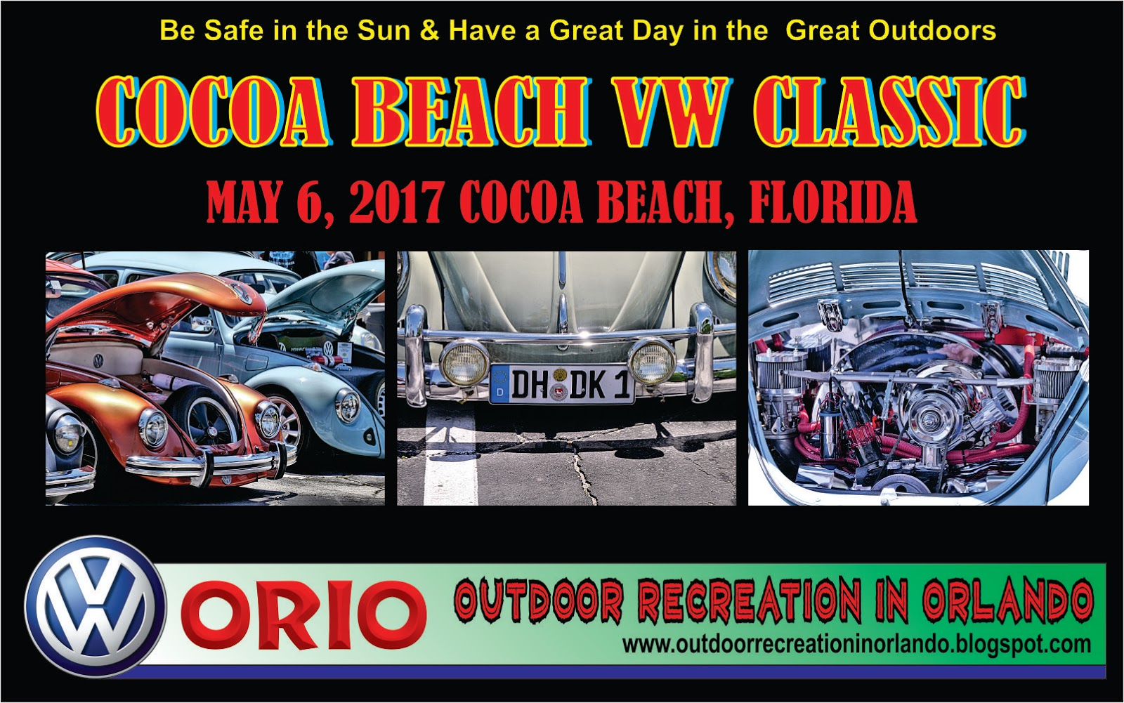 Outdoor Recreation In Orlando Cocoa Beach VW Classic Car Show - Car show orlando classic weekend