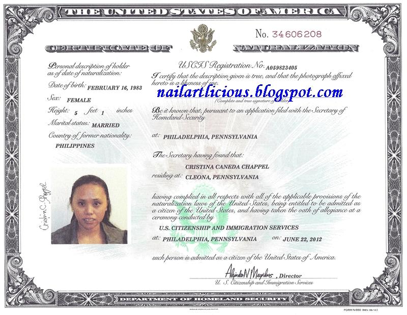 Can Naturalization Certificate Travel