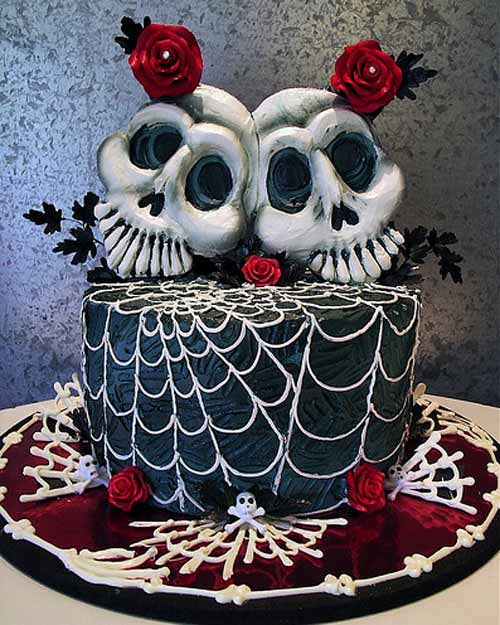 Gothic Wedding Decoration Ideas: Cake [grrls] Cakery: Gallery Of Perfect Goth Cakes