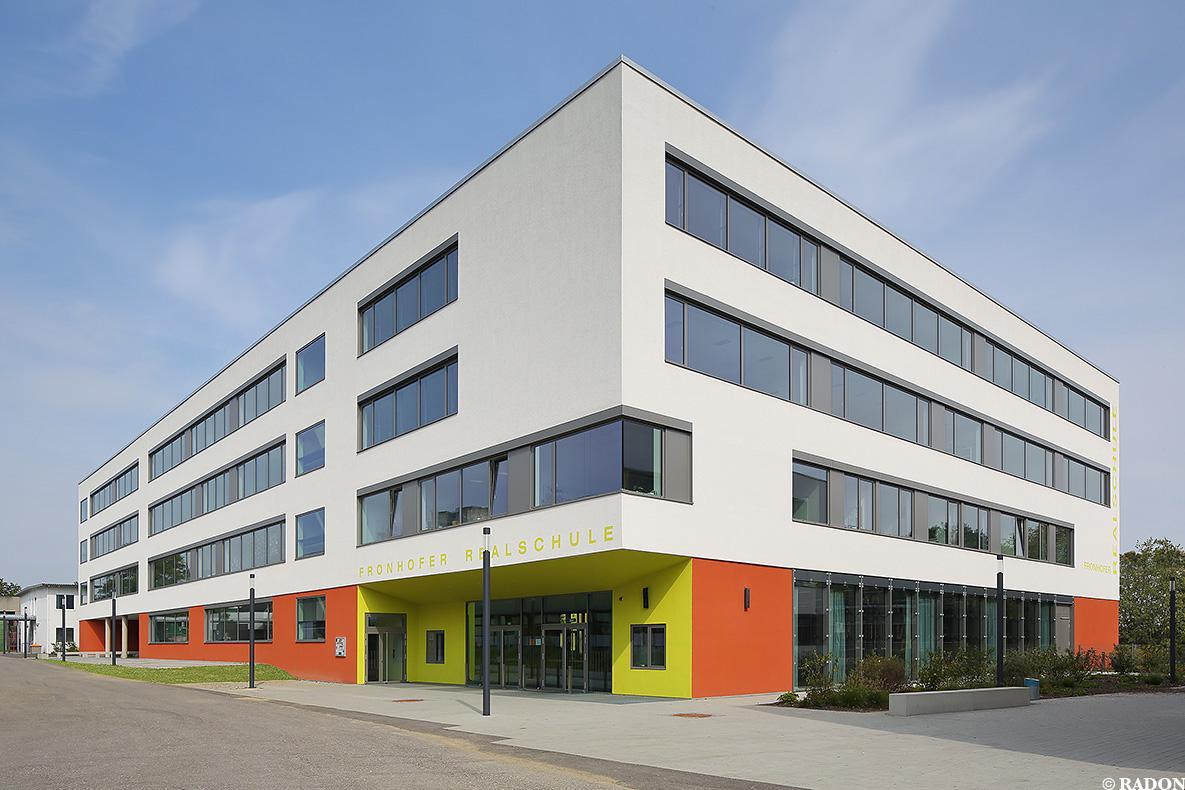 Architekten Ingolstadt radon photography norman radon fraunhofer realschule ingolstadt
