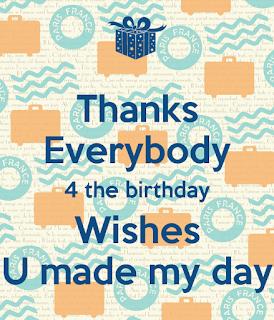 birthday thank you sayings