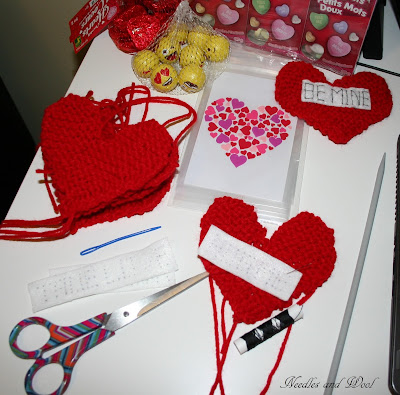 Hearts Everywhere and Projects on the Go!