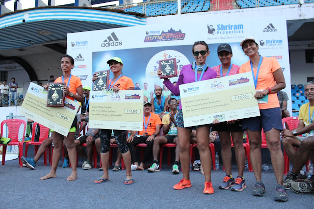 Photo 1 - Winners of 36 Hour Stadium Run (Women)-min