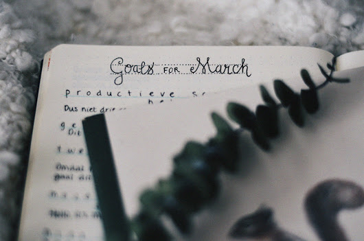 montly goals • march