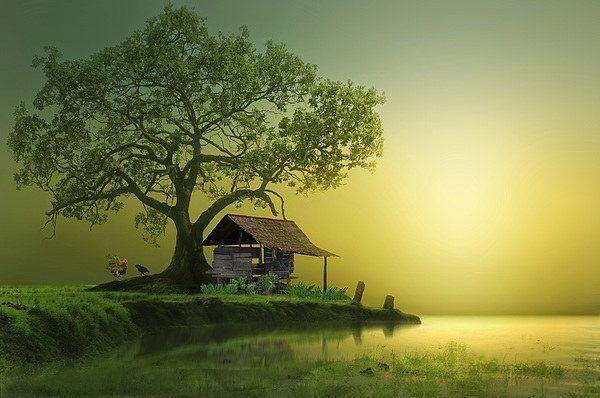 paisaje de indonecia