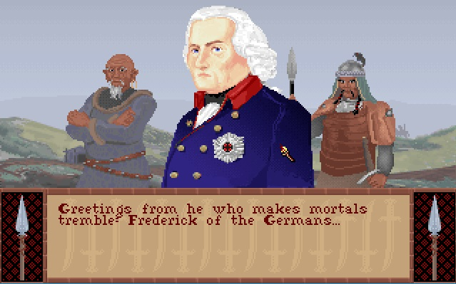 Screenshot of Frederick the Great from Sid Meier's Civilization