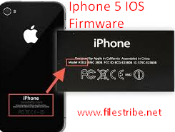 Free Download iPhone 5 IOS Latest V8.1.3 Firmware For Windows