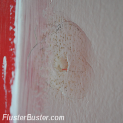Drywall: Repairing Small Holes and Nail Bubbles | Fluster Buster
