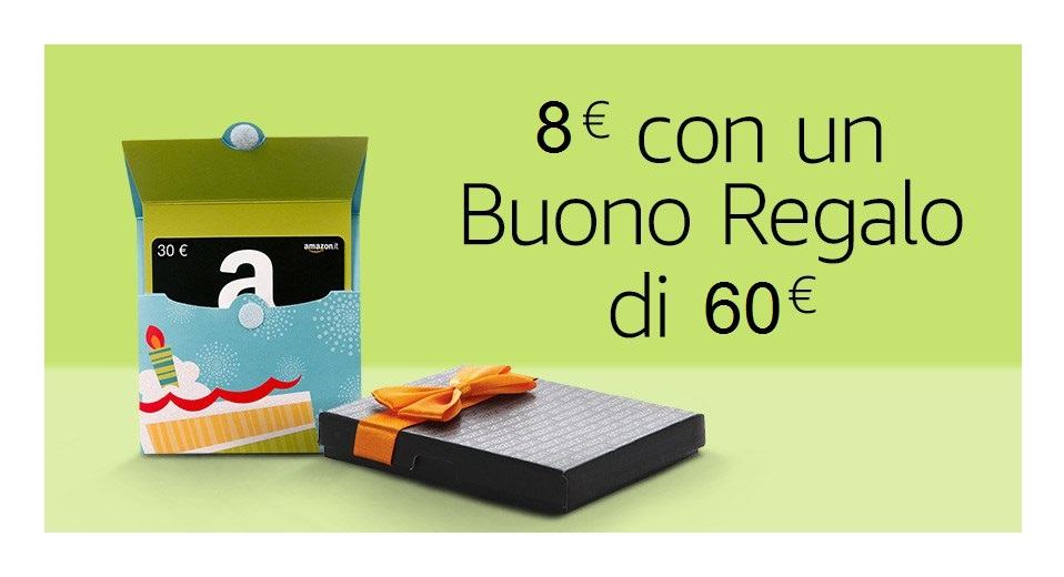 Buono regalo amazon codice sconto for Codici regalo amazon