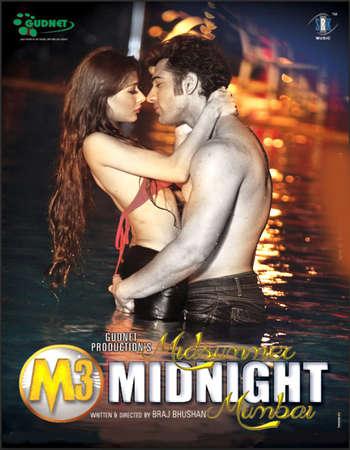 Poster Of M3 - Midsummer Midnight Mumbai 2014 Hindi 700MB DVDScr XviD Watch Online Free Download Worldfree4u