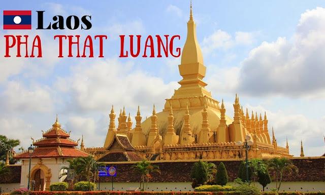 11. Pha That Luang - Laos