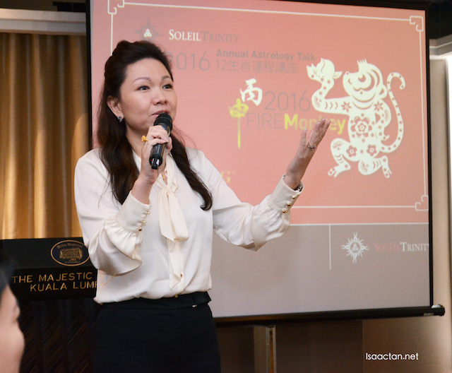 Jessie Lee, professional Feng Shui Master at the showcase event