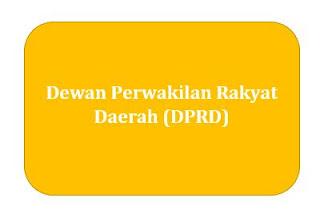 Dewan Perwakilan Rakyat Daerah (DPRD)