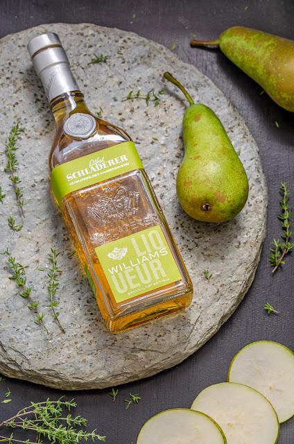 Pear & Thyme Mule