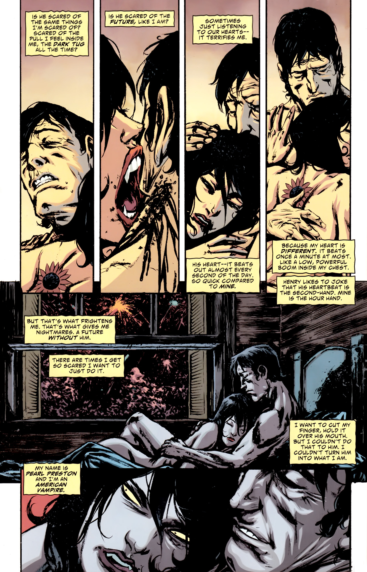 Read online American Vampire comic -  Issue #10 - 9