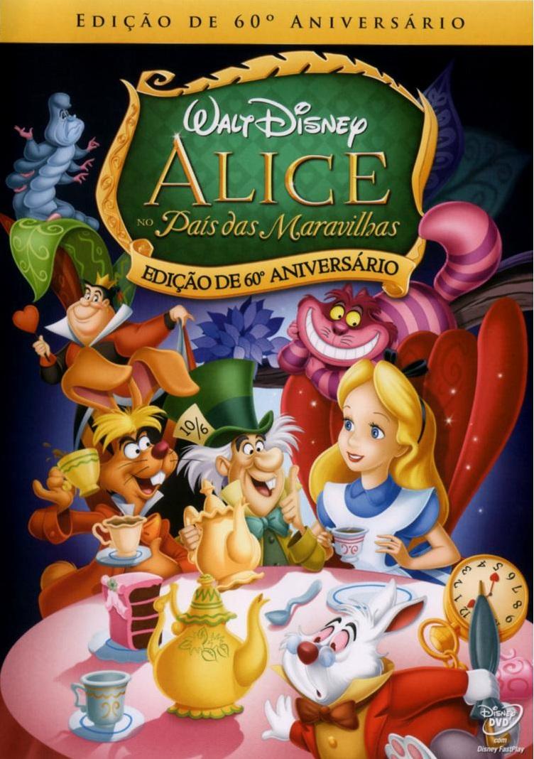 Alice no País das Maravilhas – Dublado (1951)