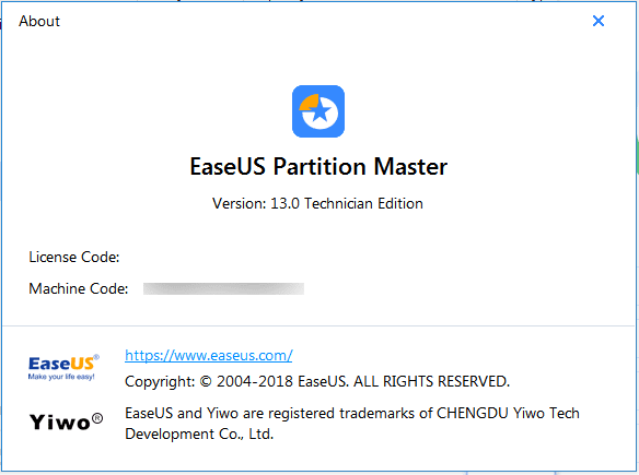 easeus activation key