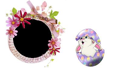 Moldura Páscoa 2016-1 foto-Bunny in Egg PNG