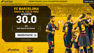 betfair supercuota Barcelona gana a Celta 17 abril