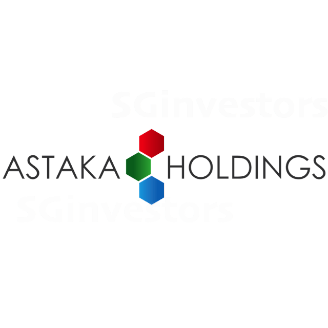 ASTAKA HOLDINGS LIMITED (42S.SI) @ SG investors.io