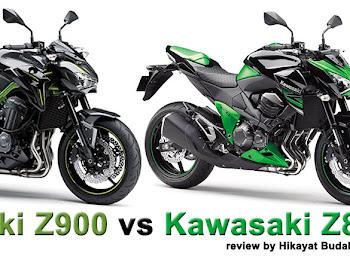 Kawasaki Z900 vs Kawasaki Z800 | Gambar, Specs, Review