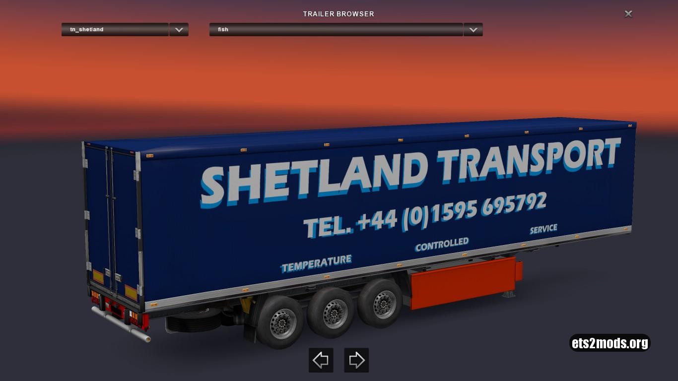 Trailer Shetland Transport