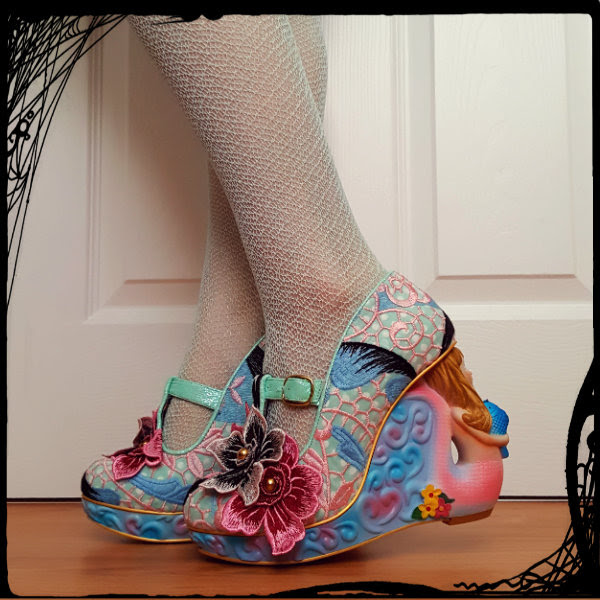 irregular choice mermaid aquata character heels