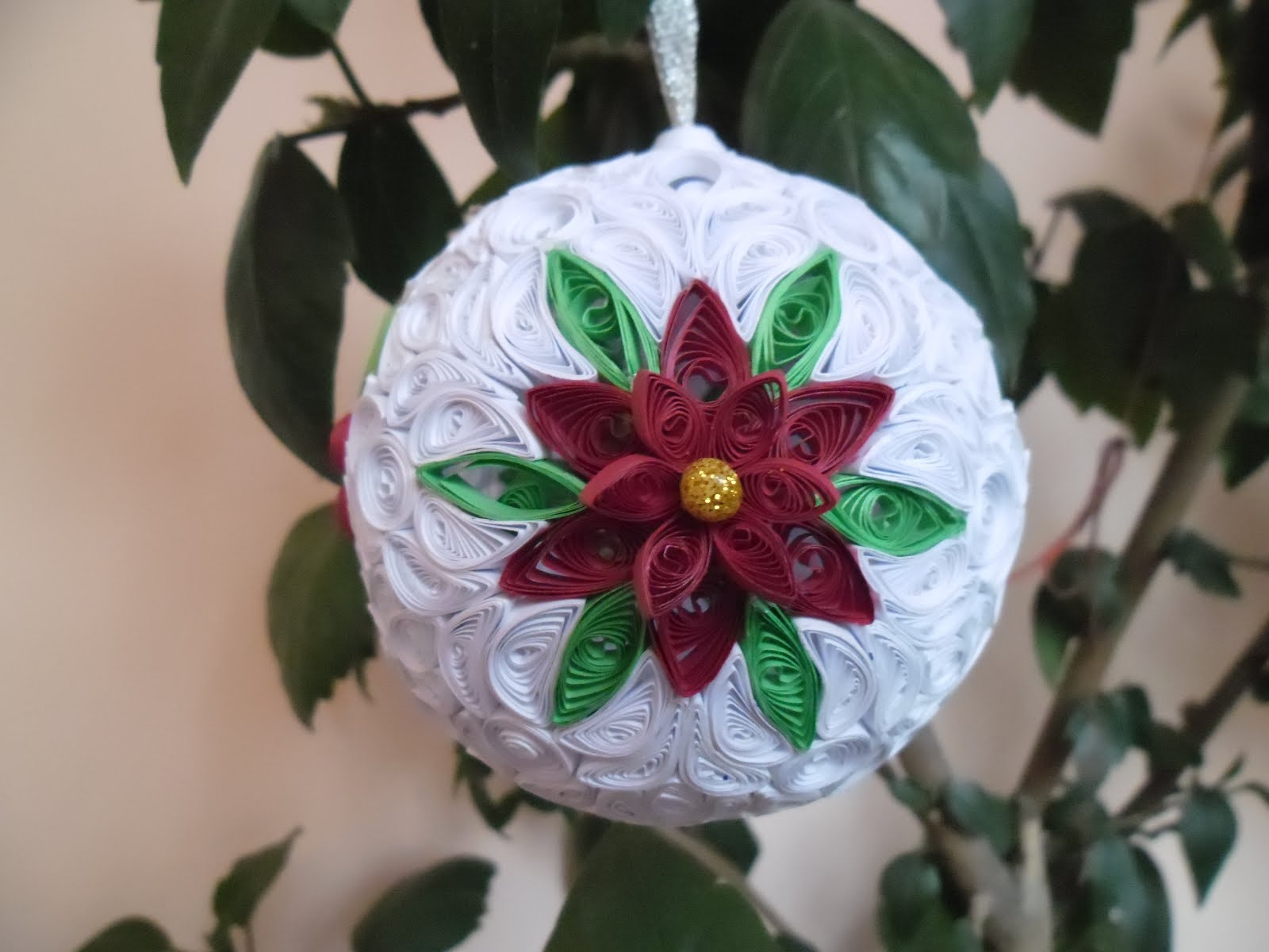 quilling my passion: Christmas ornament