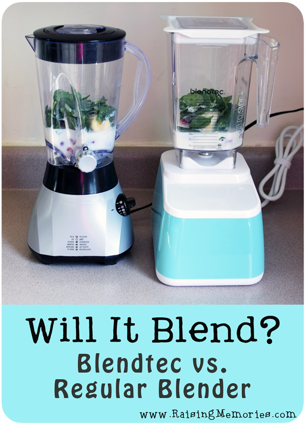 Will It Blend? Blendtec vs. Regular Blender