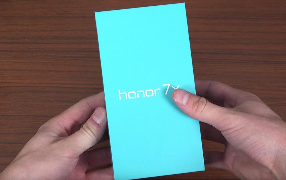 Contenuto Confezione Honor 7X