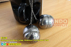 Saringan Teh Bola Celup, Stainless Tea Strainer Ball