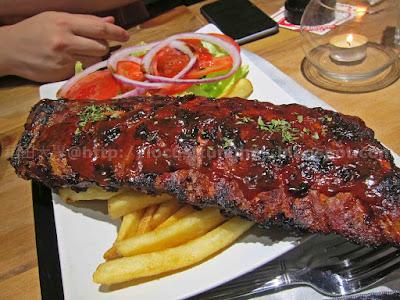 稻田大學‧吃喝玩樂系: 口大食肋骨 @ The Big Bite Flame-Grill (feat. Artisan Garden Cafe)