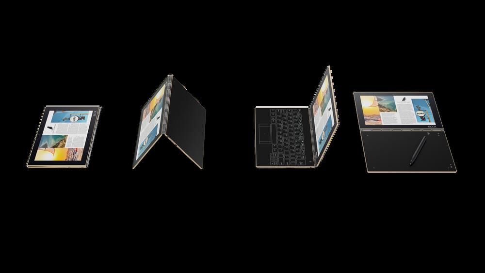 Lenovo Yoga Book: la tastiera fisica diventa virtuale | Video x6 HTN 1