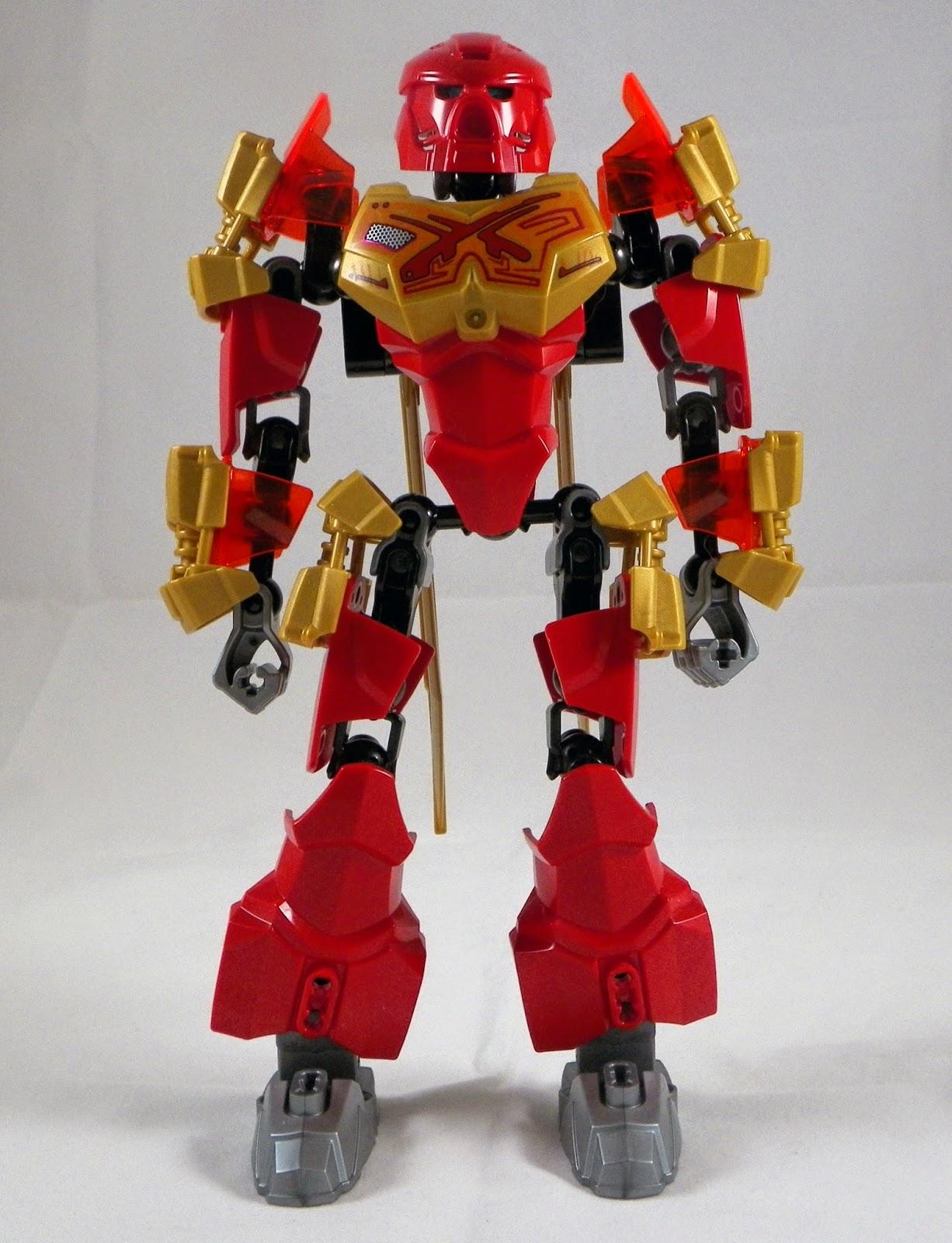 Robo Luchador : Out of the Box: Tahu Master of Fire  Robo Luchador :...