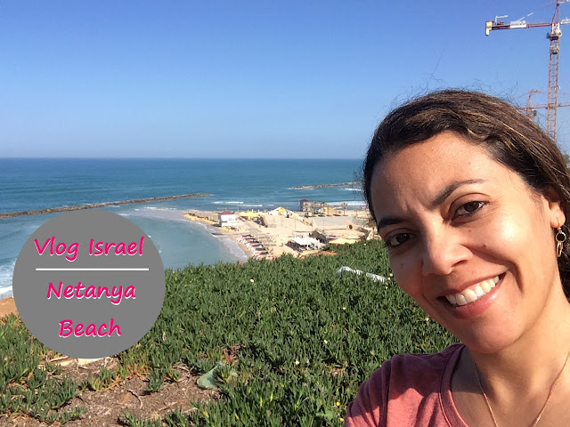 Vlog Israel Netanya Beach