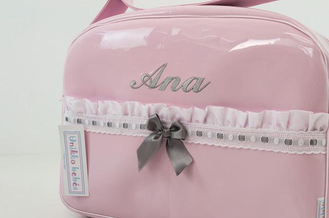 bolsa de verano Maclaren Quest rosa y gris