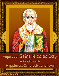 Saint Nicholas day e-cards pictures free download