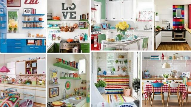 30+ Πολύχρωμες κουζίνες