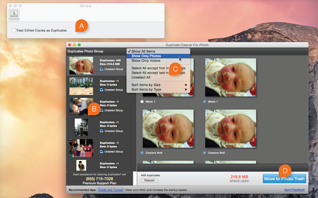 Come eliminare foto duplicate su MAC