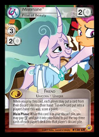 My Little Pony Mistmane, Pillar of Beauty Friends Forever CCG Card