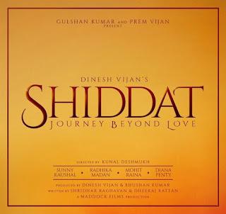 Shiddat: Journey Beyond Love Poster 1