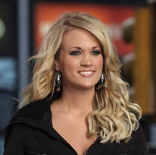 Carrie Underwood cantante de música cristiana