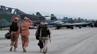 Hmeimim airbase in Lattakia