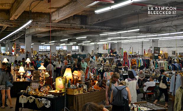 mercadillos en Nueva York chelsea flea market