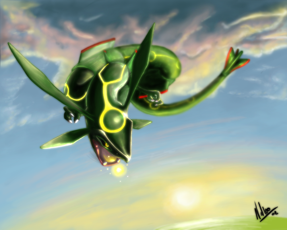 emerald rayquaza wallpapers - photo #35