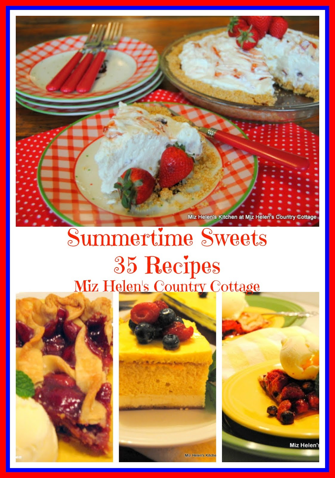 35 Summertime Sweets Recipe Collection